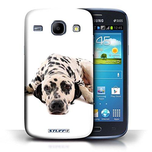 Kobalt® Imprimé Etui / Coque pour Samsung Galaxy Core / Dalmatien conception / Série Chiens