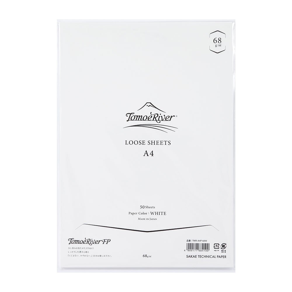 Tomoe River Artist-Grade Letter Writing Pad, White (TMR-A4P-68W)