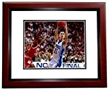 Autographed Bobby Hurley Photograph - 8x10 inch MAHOGANY CUSTOM FRAME Guaranteed to pass or JSA - PSA/DNA Certified