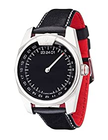 DETOMASO CLASSIC MAN One Hand 24 Hour Single Revolution Mens Quartz Watch with Stainless Steel Casing
