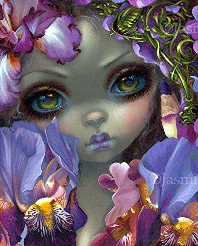 """The Language of Flowers III: Irises"