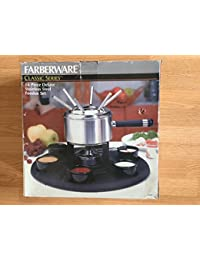 Acquisition FARBERWARE Classic Series 16 Piece Deluxe Stainless Steel Fondue Set 86707 compare