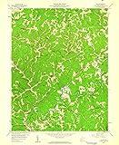 YellowMaps Clio WV topo map, 1:24000 Scale, 7.5 X 7.5 Minute,...