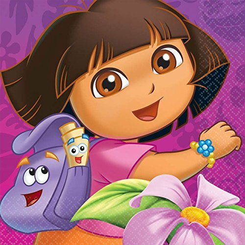 Dora's Flower Adventure Lunch Napkins (16)]()