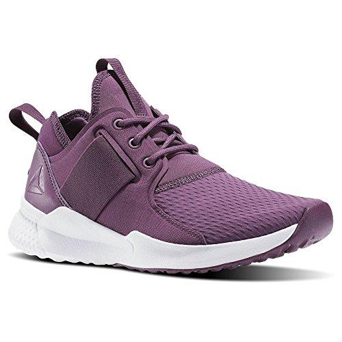 Reebok Damen Guresu 1.0 Multisport Indoor Schuhe, Weiß, 48.5 EU violett (Washed Plum / White)