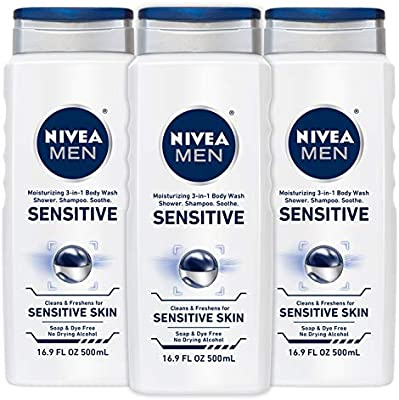 mens body wash for sensitive skin