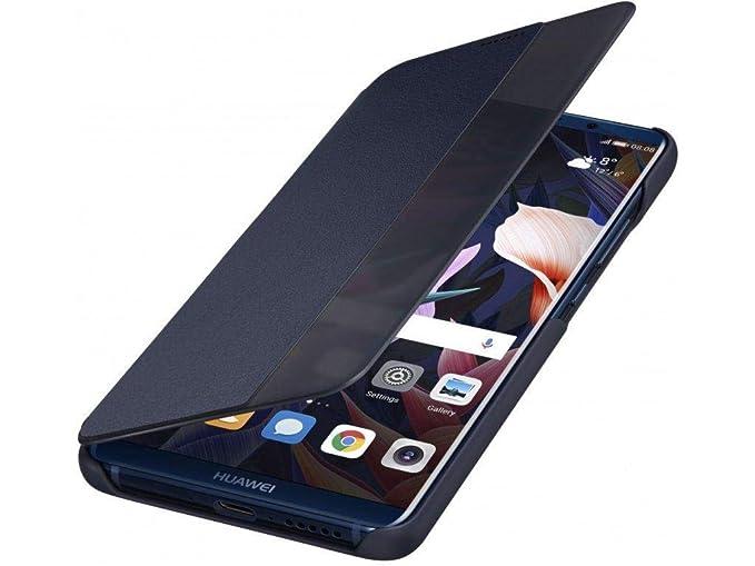 48a91564b6 HUAWEI Original Mate PRO 10 - Smart View Flip Case - Genuine Protective  Cover (Blue)