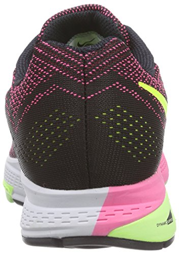 Nike Air Zoom Structure 18, Women's Training Shoes Pink Pow/Ghost Green/Black/Volt