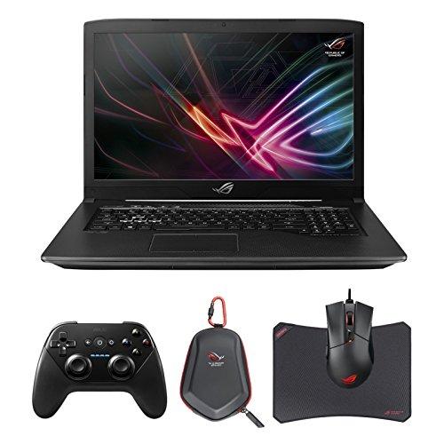 "Price comparison product image ASUS ROG STRIX GL703VM-DB74 SCAR Edition (i7-7700HQ, 16GB RAM, 256GB NVMe SSD + 1TB SSHD, NVIDIA GTX 1060 6GB, 17.3"" Full HD 120Hz 5ms, Windows 10) VR Ready Gaming Notebook"