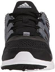 adidas Performance Hyperfast 2.0 K Running Shoe (Little Kid/Big Kid),Grey/Black/Onix Grey,4 M US Big Kid