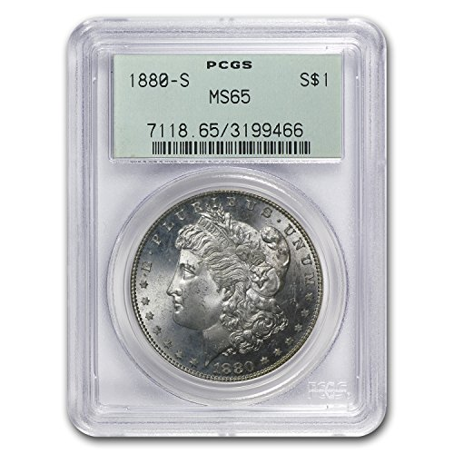 1880 S Morgan Dollar MS-65 PCGS $1 MS-65 PCGS