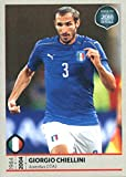 2017 Panini Road to FIFA World Cup Russia Stickers #132 Giorgio Chiellini - NM-MT