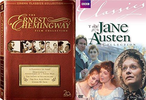 (Classic Literature in Film Collection: Ernest Hemingway Collection & Jane Austen Collection 11-Movie Bundle )