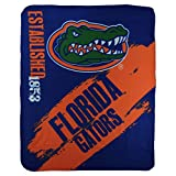 NCAA Collegiate School Logo Fleece Blanket (Florida Gators)