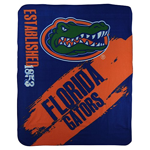 - The Northwest Company NCAA Collegiate School Logo Fleece Blanket (Florida Gators)