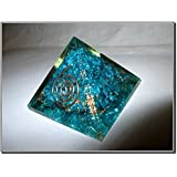 Exquisite A++ Feroza Blue Chakra Orgone Pyramid Crystal Gemstones Copper Metal Mix Rare Healing Positive Energy Tetrahedron Sacred Onyx Geometry Memory Concentration Meditation Spiritual Psychic Piezo Electric Effect Business Prosperity Success Destress Anxiety Disorder Love Power Mental Peace Strength Divine X-mas Mother's Day Father's Day Thanks Giving Birthday Anniversary Thinking of You Sorry Hug Get Well Soon Husband Wife Grand Father Children Pregnant Ladies New Born Babies Memory Motivation Inspiration Dream Reality Imagination Pagan Wicca Om Mantra Holy Pious Auspicious India Asia Negative Ion Enhancer Electromagnetic Waves Positive Frequency Valentine Celebration Event Function Office Opening Altar Worship Idol God Lord Sir Students Concentration