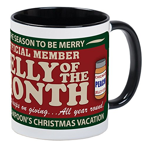 CafePress CHRISTMAS VACATION JELLY OF THE MONTH CLUB Mug Unique Coffee Mug, Coffee Cup
