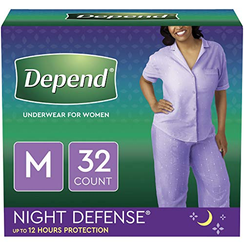 Depend Night Defense Incontinence