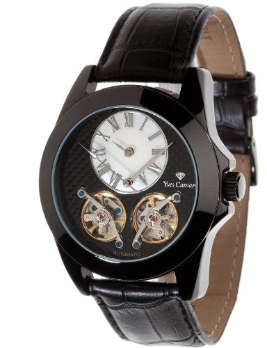 Yves Camani Women's Automatic Watch BALANCIER Automatik Schwarz YC1034-C YC10...