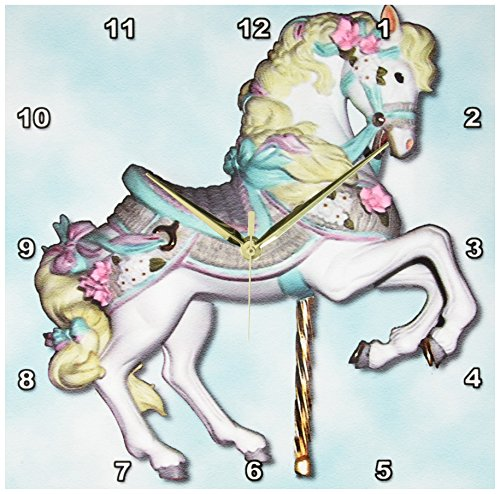 3dRose dpp 1186 2 Carousel Horse 13 Inch