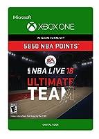NBA LIVE 18: NBA UT 5850 Points Pack - Xbox One [Digital Code]