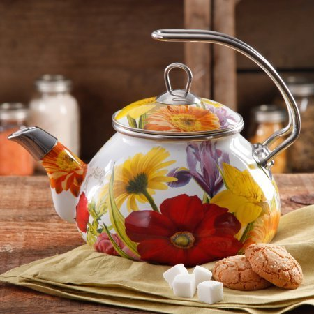 The Pioneer Woman Flower Garden 2.3 qt Tea Kettle