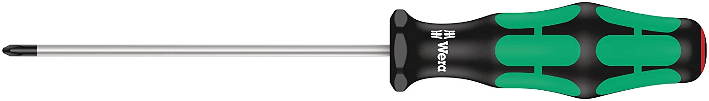 Wera 05008715002 Kraftform Plus 350 PH Phillips Screwdriver, without Lasertip, PH 1 Head, 12-Inch Blade Length Wera Tools 05008715001