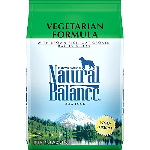 Natural Balance Vegetarian Formula Dry Dog Food, 4.5-Pound