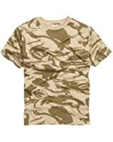 Army and outdoors t-shirt 100% coton-uK uS army désert