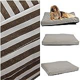 1Pcs Illustrious Popular Pet Bed Cover Size XL 48'' x 29'' Replacement Soft Cat Pillow Color Type Stripe Canvas