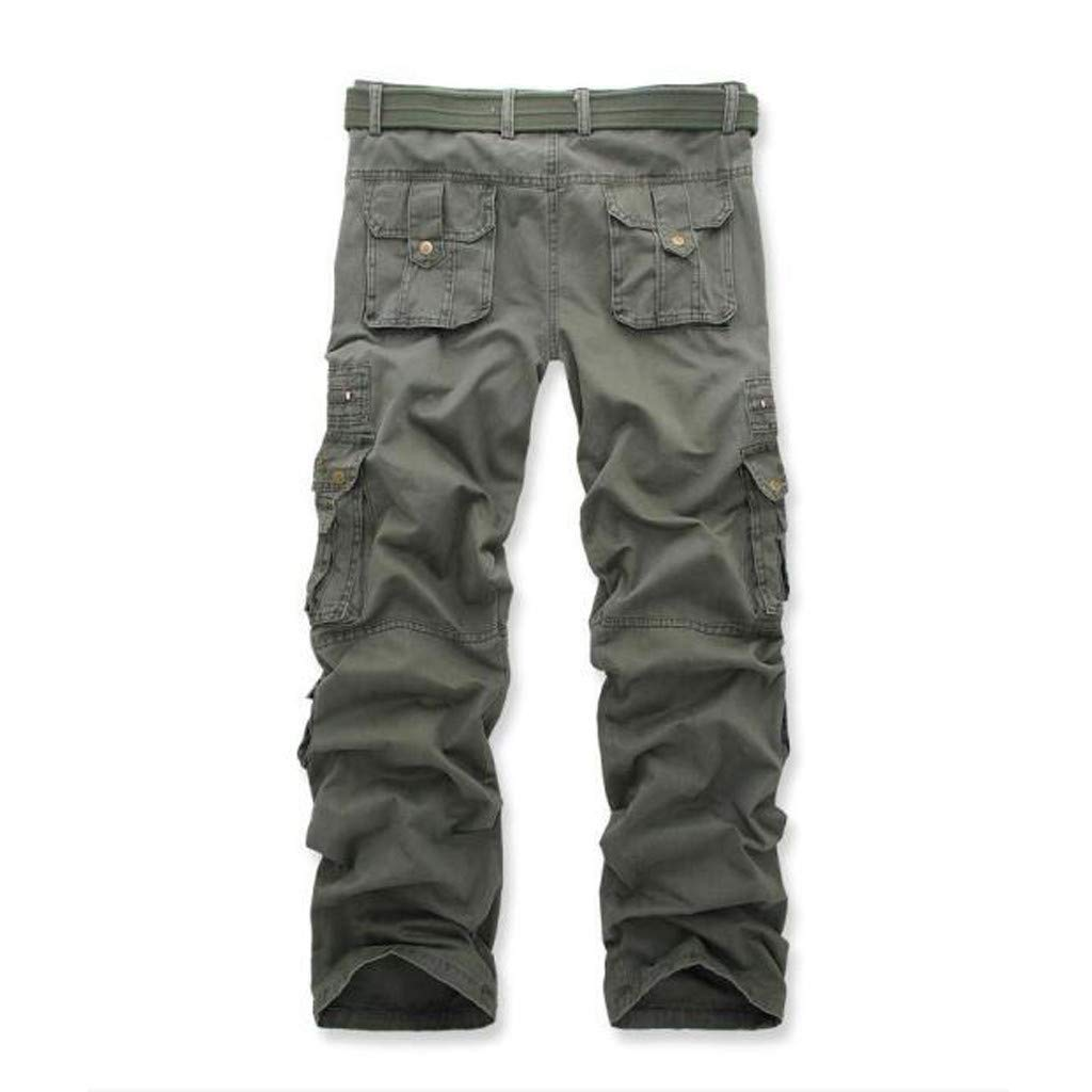 Allywit Casual Military Pants, Cotton Camo Tactical Wild Combat Cargo Sport Pleated Multi Zipper Pockets Trousers Plus Size by Allywit-Pants (Image #4)