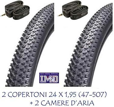 CHAOYANG - 2 neumáticos para Bicicleta de montaña, 24 x 1,95 cm ...