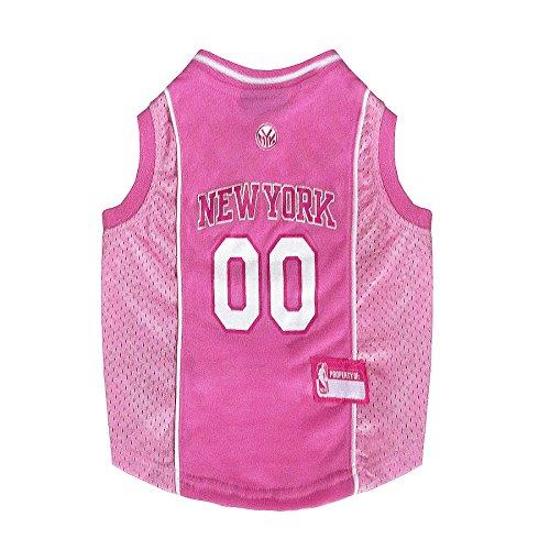 NBA NEW YORK KNICKS Pink DOG Jersey, Medium]()