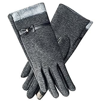 Chalier Womens Winter Touch Screen Gloves Warm Lined Phone