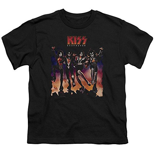 Kiss Youth Destroyer Cover Kids T-Shirt Size YM (Destroyer Tshirt)