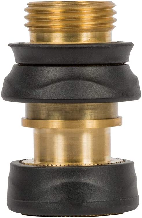 Gilmour 871504-1001 Heavy Duty Quick Connect Set, Gold/Black