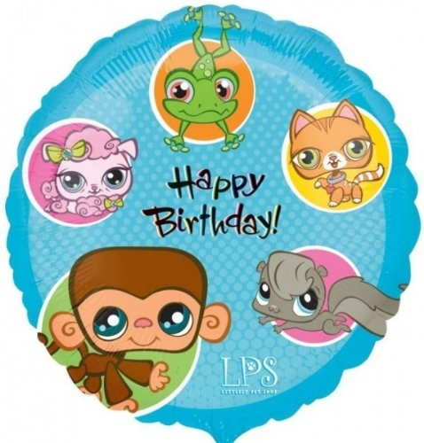 Party Destination - Littlest Pet Shop Foil Balloon - , 18