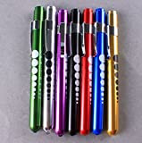 Medical Aid Bright Pen Light Mini Portable Nurse Nursing Penlight Flashlight Torch with Scale