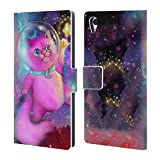 Official Ash Evans Shooting Star Magical Creature Leather Book Wallet Case Cover For Sony Xperia Z5 / Z5 Dual