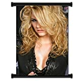pitbull the singer - Kesha singer Wall Scroll Poster (16x24) Inches