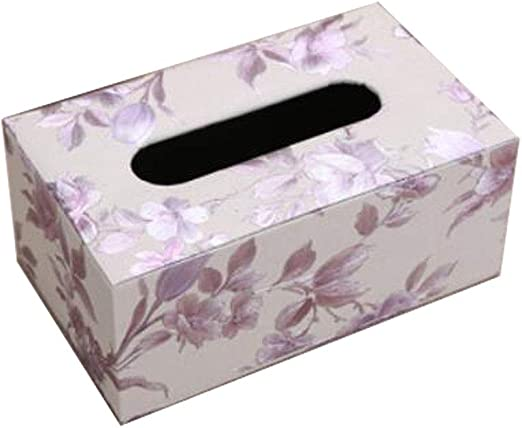 China Show Vintage Rectangular Tissue Holder Caja Decorativa Papel ...