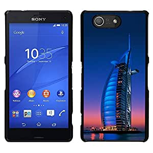 Impact Case Cover with Art Pattern Designs FOR Sony Xperia Z3 Compact Burj Dubai Betty shop
