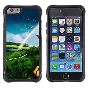 Suave TPU GEL Carcasa Funda Silicona Blando Estuche Caso de protección (para) Apple Iphone 6 / CECELL Phone case / / Nature Hot Air Adventure /
