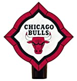 The Memory Company NBA Chicago Bulls Vintage Art Glass Nightlight