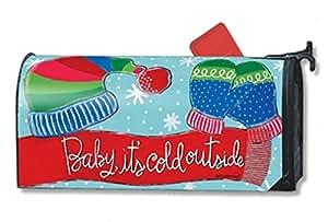 MailWraps buzón de bebé hace frío MailWrap Cubierta 01422