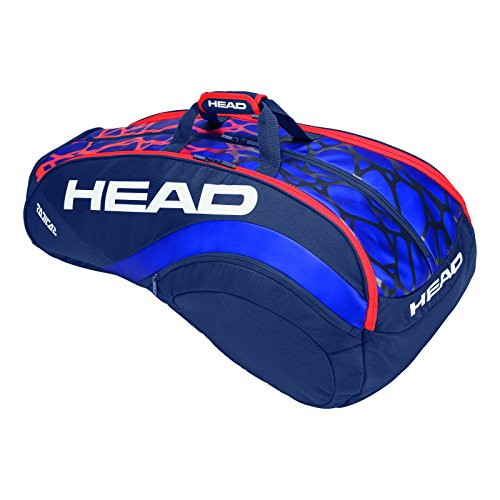HEAD Radical 12R Monstercombi Tennis Bag Blue/Orange by HEAD