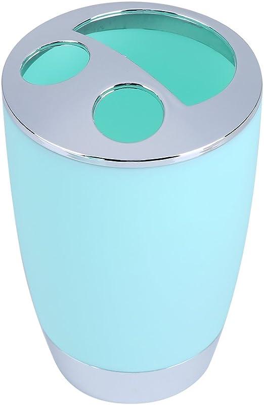 tennesky 6/pcs Accesorios para cuarto de ba/ño conjunto dispensador de jab/ón cepillo WC Soporte para cepillo de dientes