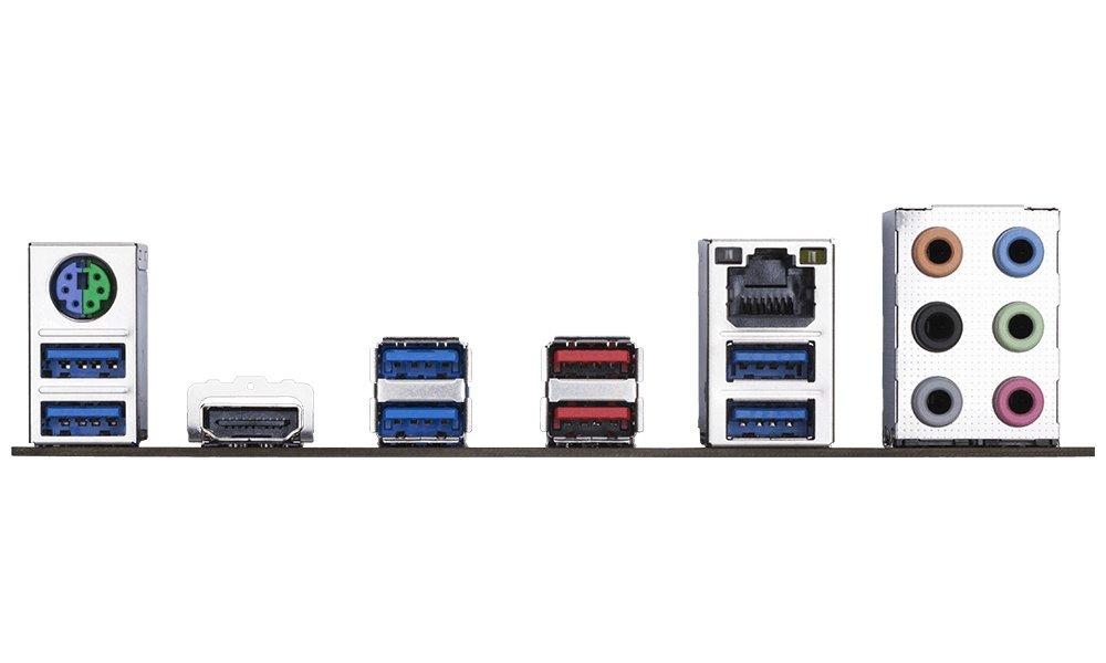 Gigabyte GA-AX370-Gaming AMD Ryzen AM4// X370// Smart Fan 5// HDMI//M.2// 2xUSB 3.1 Gen 2 Type-A//ATX// DDR4 Motherboard
