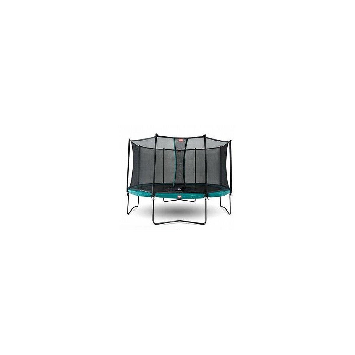 BERG® Trampolin Champion mit Sicherheitsnetz Comfort, 270 cm, Grün