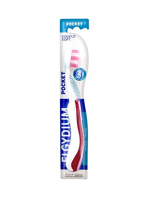 Elgydium bolsillo cepillo de dientes suave